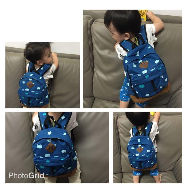 💯💯全新💯💯❤️幼兒園寶寶小背包❤️ 寶寶小書包 帆布包 後背包 雙肩包 男女兒童帆布背包$258