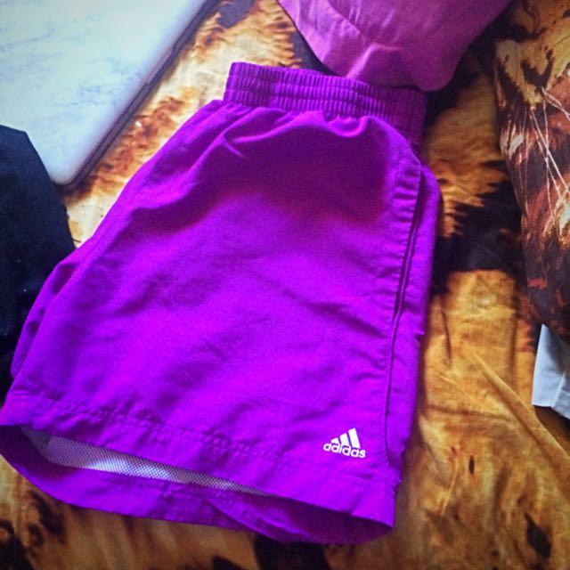 Adidas Shorts (Purple)