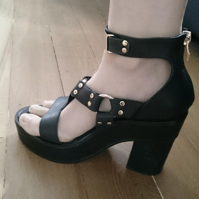 Alias Mae Platform Sandals Size 38