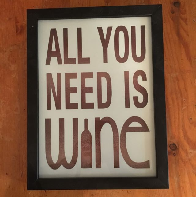 All You Need Is Wine Picture