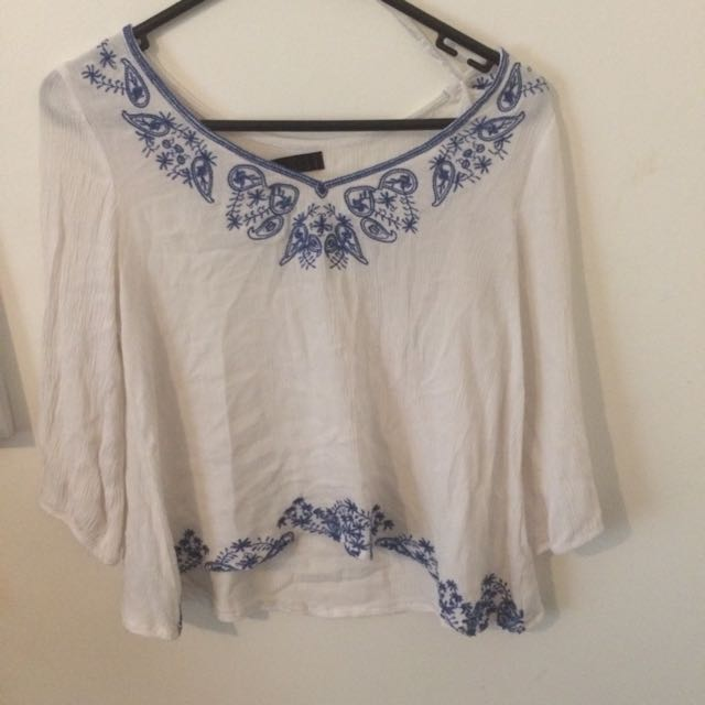 Ally Size 8 Top