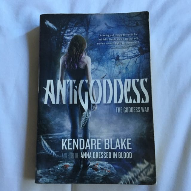 REDUCED Antigoddess (Book 1)