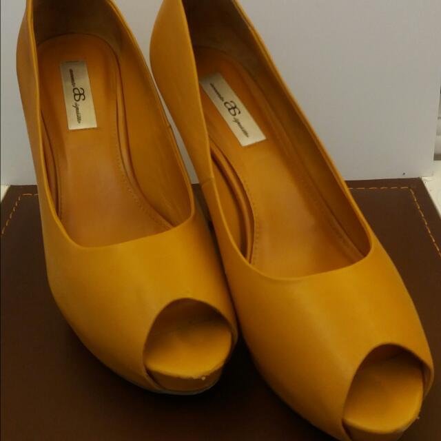 AS 胎牛皮魚口鞋,24.5
