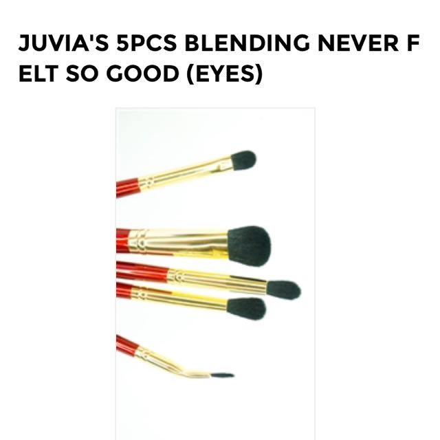 10 For 2 Authentic Juvia's Place Eye Brushes