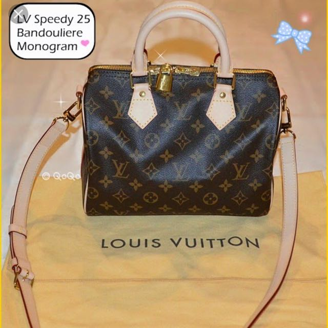 ab9838da6ba1 Authentic LV Speedy B 25 Monogram