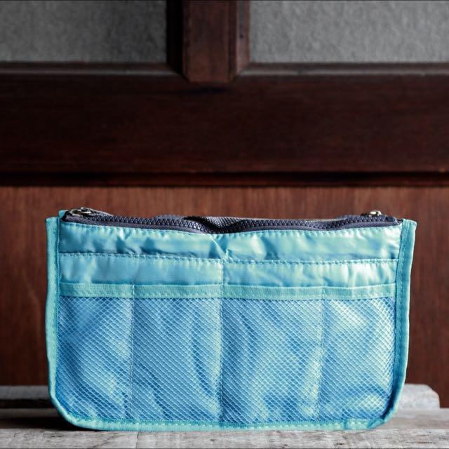 Baby Blue Bag Organizer