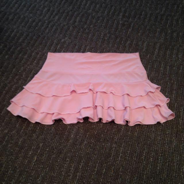 Baby Pink Skirt