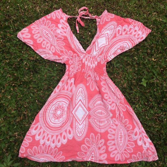 Bali Ethnic Mini Dress