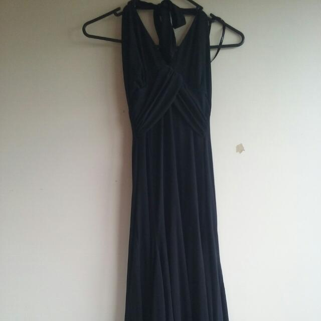 Black Cocktail Dress Used once Size 8