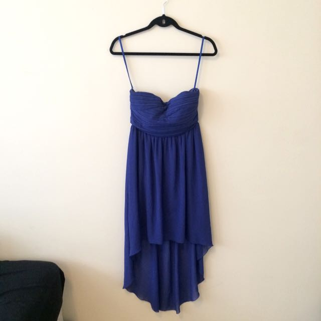 Blue tail Dress