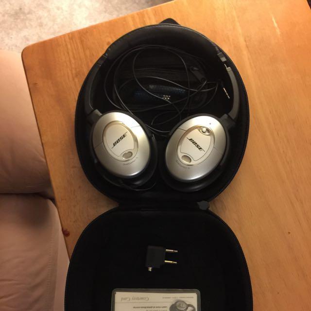 Bose Quiet Comofrt 15 Acoustic Noise Cancelling Headphones