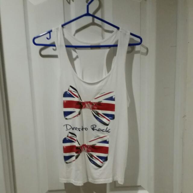 British Themed Tank Top