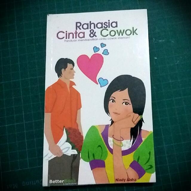 Buku 'Rahasia Cinta & Cowok' by Nindy Aisha