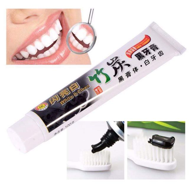Charcoal Toothpaste Teeth Whitening