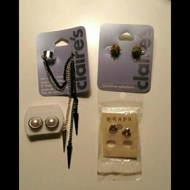 Free Claire's and Other Earrings
