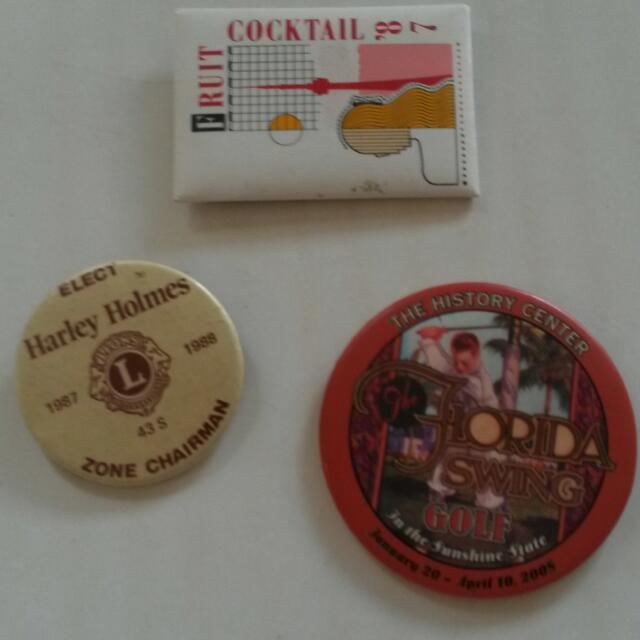 Collectable/Retro Buttons/ $5.00 Each