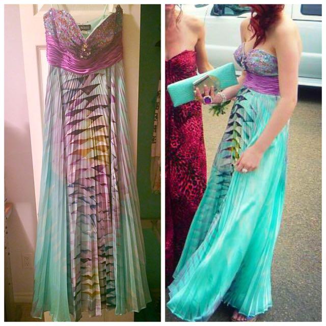 Grad Dress (Size 4)