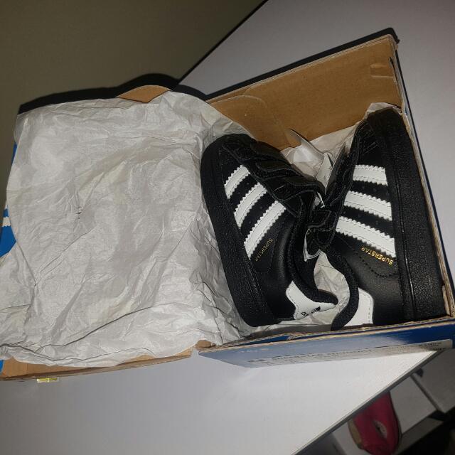 Infant Adidas Superstar Size Us3k