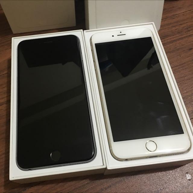 Iphone6 4.7吋吋 64G 銀色 灰色