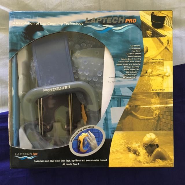 REDUCED Laptech Pro - Swimming Equipment