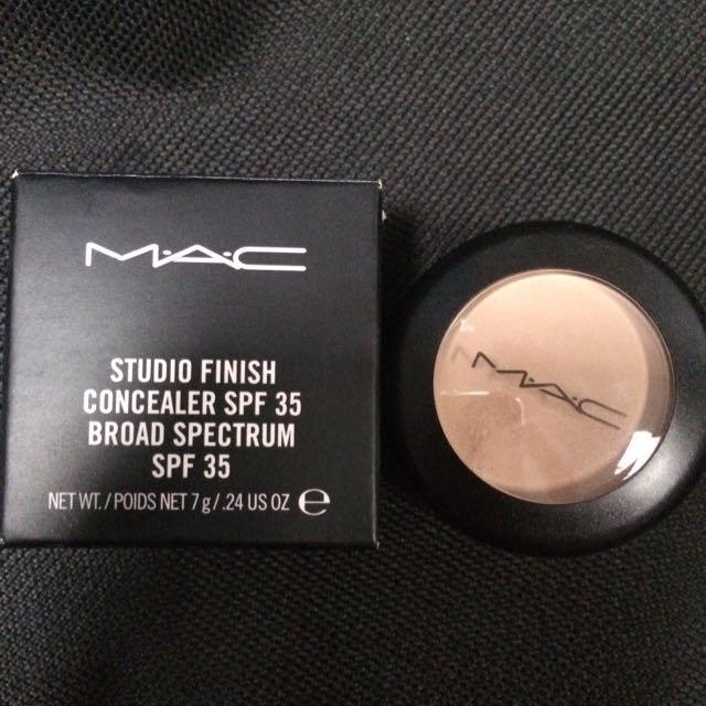 MAC studio Finish Concealer SPF 35 Broad spectrum