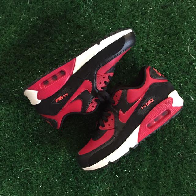 Nike Air Max 90 黑紅配色