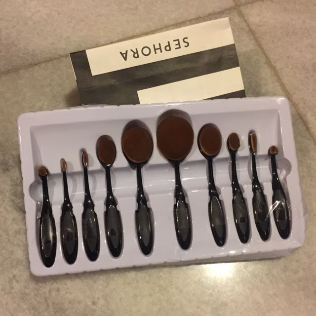 Oval brush 10 pcs