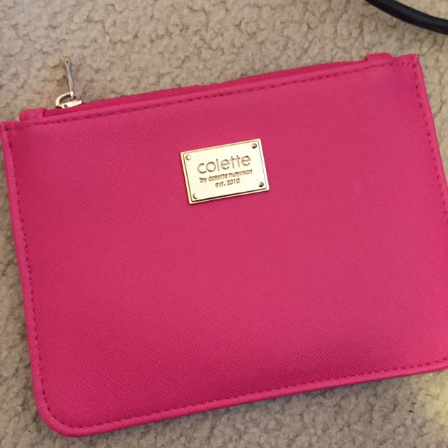 Pink Pouch Wallet