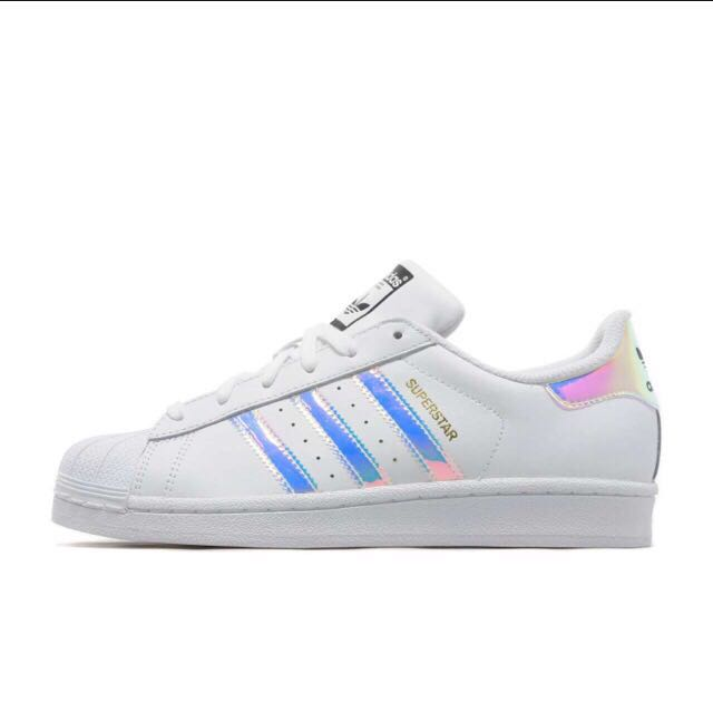 online store 62fed 0b53a PO AUTHENTIC ADIDAS SUPERSTAR YOUTH HOLOGRAM, Women's ...