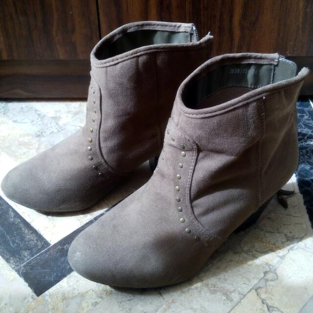 Preloved Authentic NEW LOOK Boots