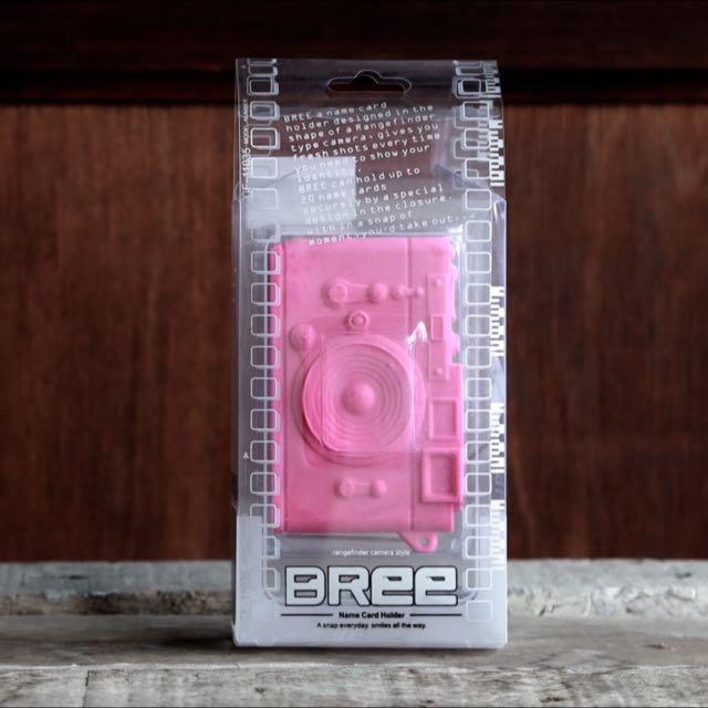 Pretty Pink Bree Camera-shaped Card Case