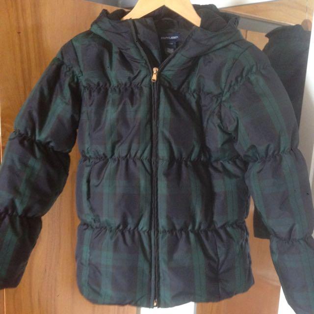 Ralph Lauren Tartan Puffed Jacket