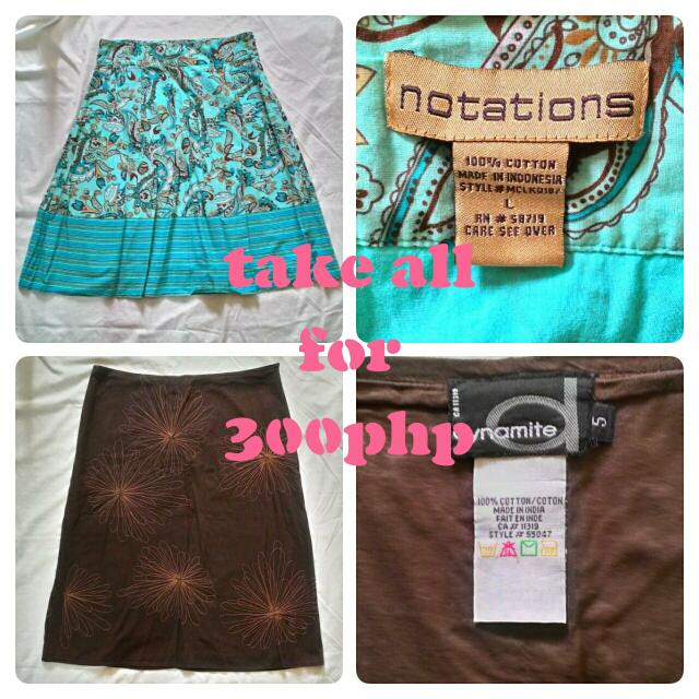 REPRICED!!! Take All Skirts