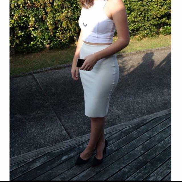 RUBY white Skirt
