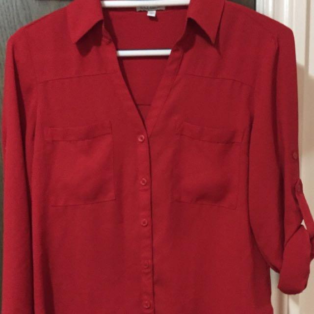 S Express button up dress shirt