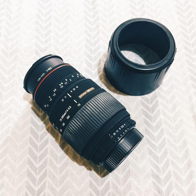 *RESERVED* Sigma 70-300mm F4-5.6 Macro Lens (Nikon mount)