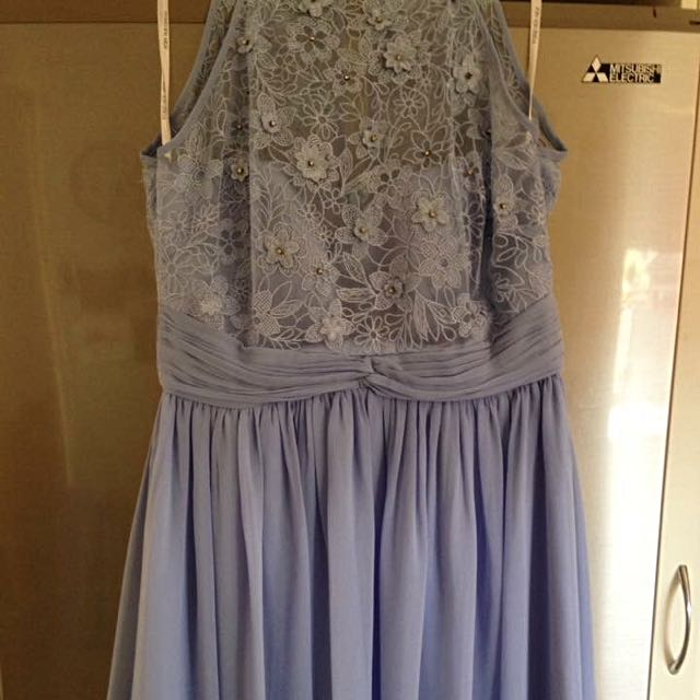 Size 14 Lilac Embroidered Dress