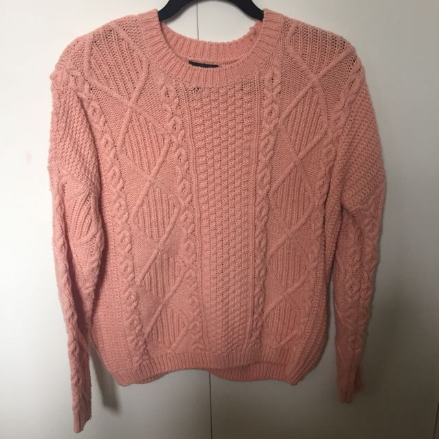 Size S Knit Sweater From Topshop