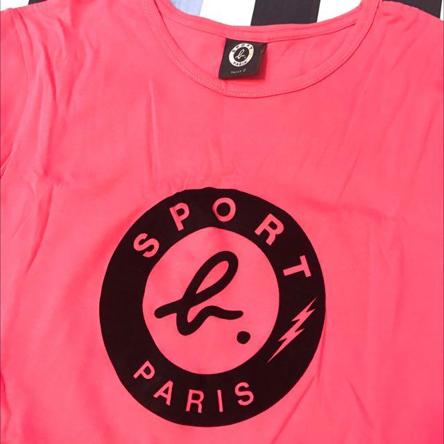 Sport B 棉T Agnes B