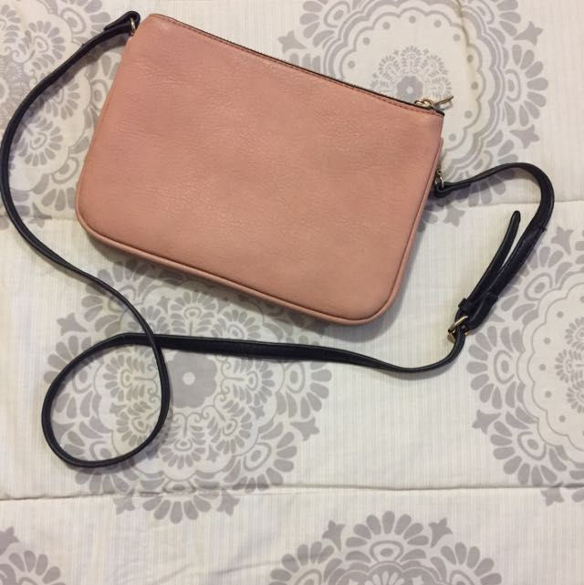Stradivarius two tone sling bag