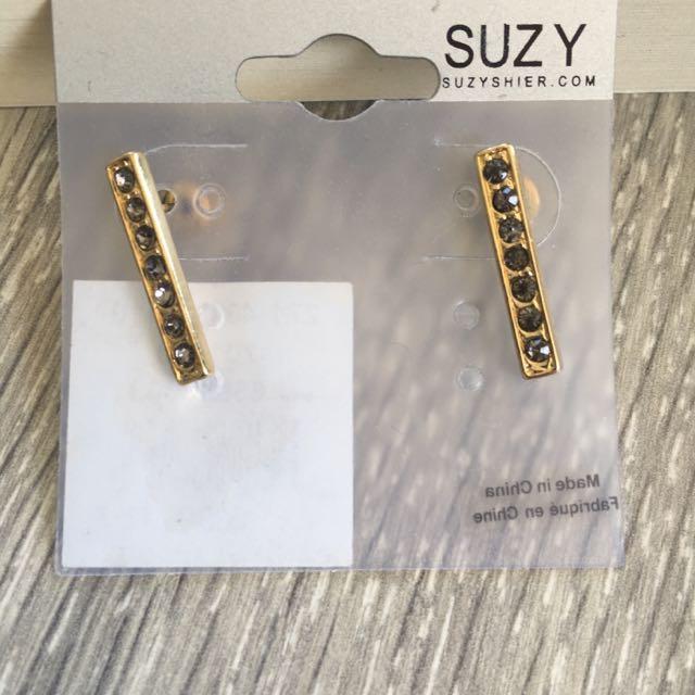 Suzy Sheer Earrings