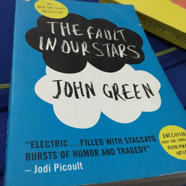 The Fault In Our Stars Novel (john Green)