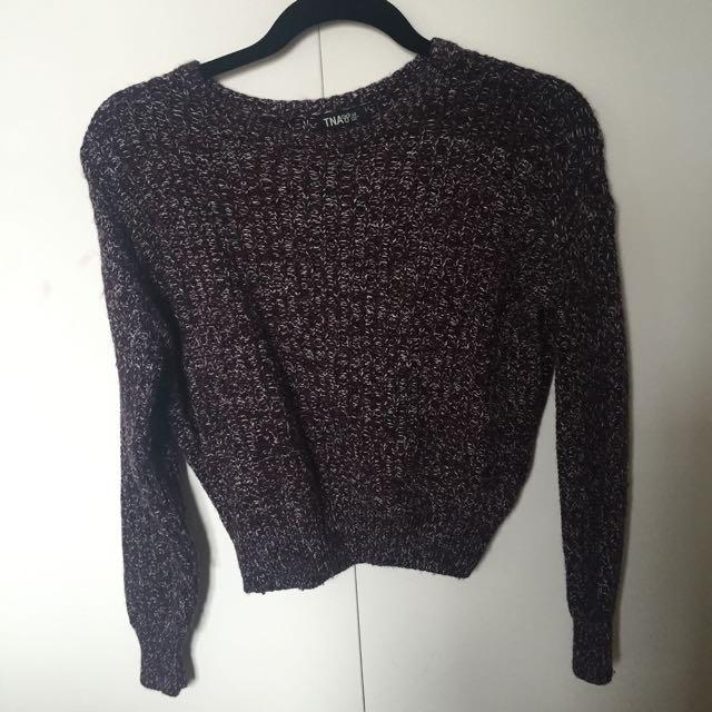 TNA Knit Sweater From Aritzia - XS