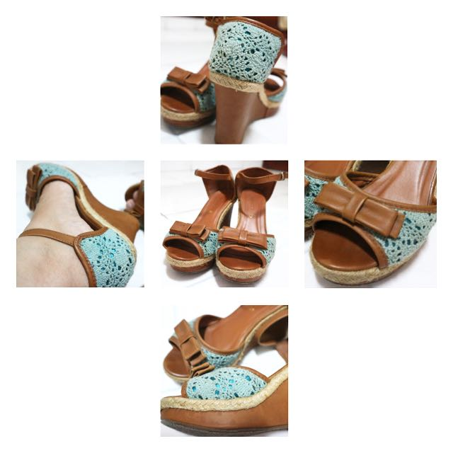 Tosca Wedges by Marie Claire