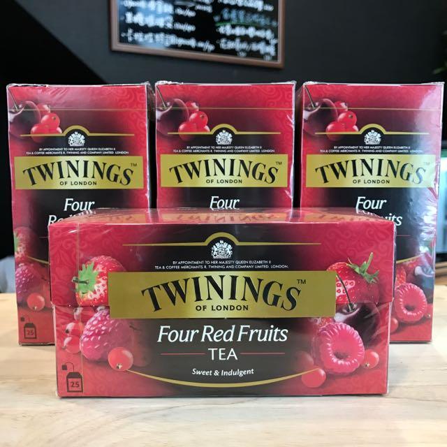 TWININGS 唐寧茶 四紅果茶