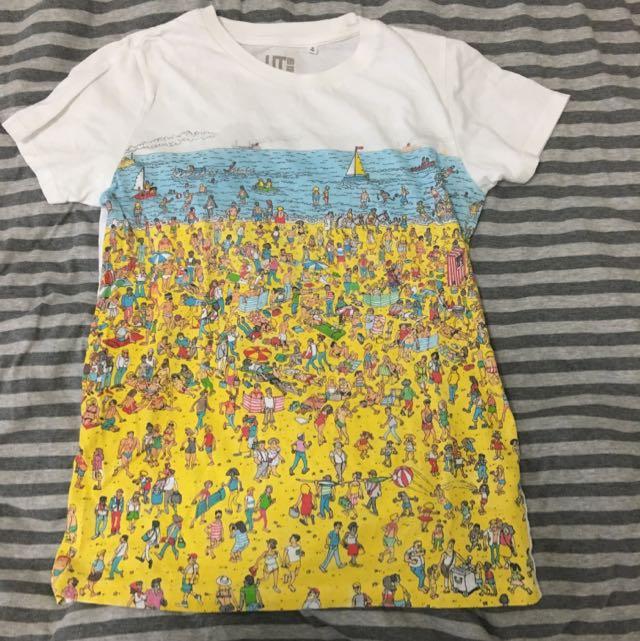UNIQLO - Where's Wally? Series T-shirt