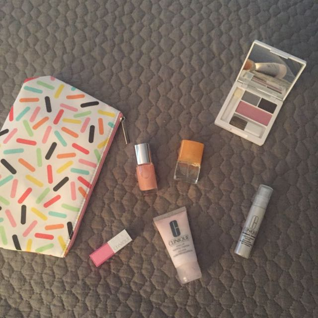 Unused Clinique Products
