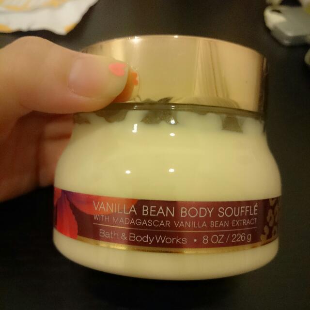 Vanilla Bean Body Souffle Bath