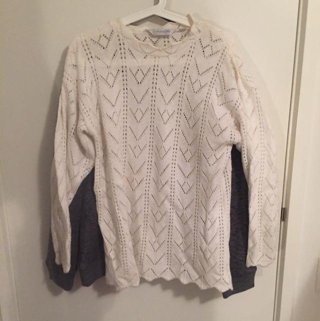 Vintage White jumper