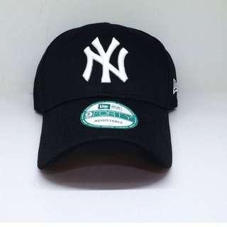 New Era NY 黑色 9Forty Cap 紐約 洋基 男女 棒球 老帽 街頭 必備